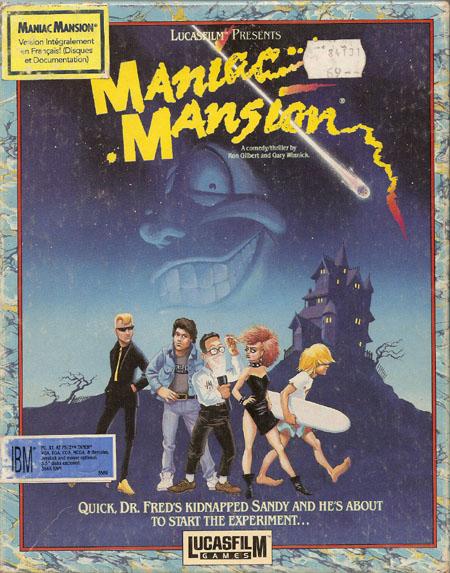 Maniac Mansion (French)