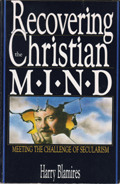 Recovering the Christian Mind - Harry Blamires - Book Cover